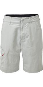 2019 Gill Mens UV Tec Shorts Silver UV012