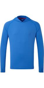 2021 Gill Mens UV Tec Hoody Blue UV016