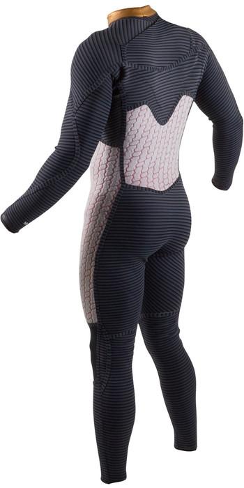 2020 GUL Mens Viper 4/3mm Chest Zip Wetsuit VR1234-B7 - Black