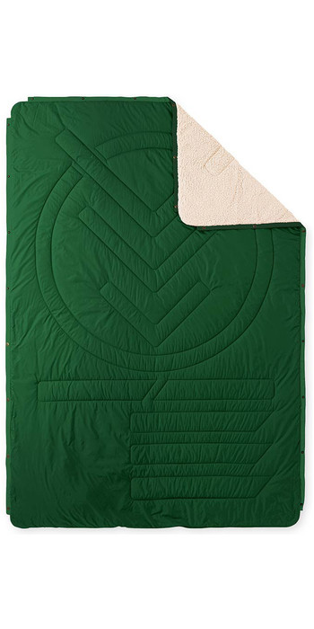 2020 Voited Recycled Cloudtouch Indoor / Outdoor Camping Pillow Blanket V20UN01BLCTC -  Eden Green