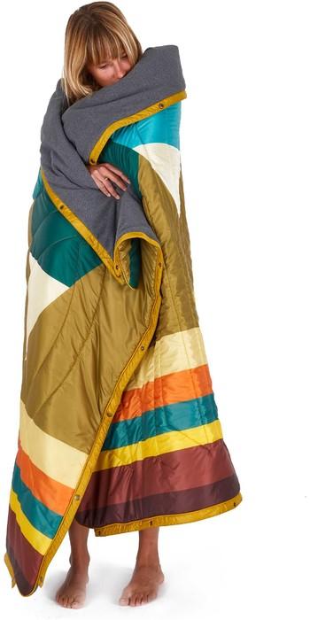 2020 Voited Recycled Fleece Outdoor Camping Pillow Blanket V20UN01BLFLC - Monadnock