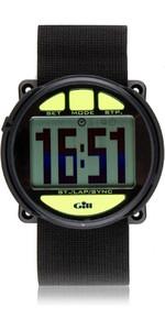 2020 Gill Regatta Race Timer Watch BLACK lime buttons W014