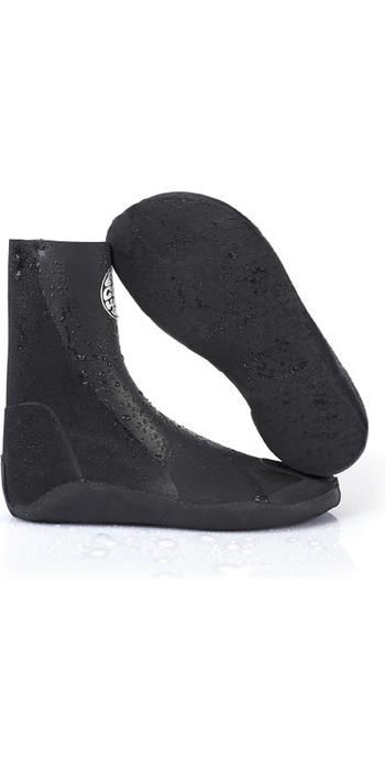 2019 Rip Curl Rubber Soul Plus 3mm Split-Toe Boots Black WBO7OF