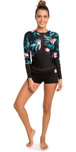 2019 Rip Curl Ladies Long Sleeve BoyLeg UV Surf Lycra Suit Coral WLY6KW