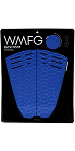 2019 WMFG Classic Back Foot Traction Pad Blue / White 170015