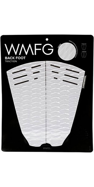 2019 WMFG Classic Back Foot Traction Pad White / Black 170015