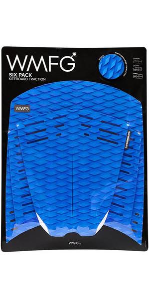 2018 WMFG Classic Six Pack Traction Pad Blue 170001