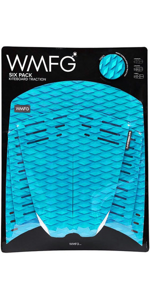 2019 WMFG Classic Six Pack Traction Pad Teal 170001