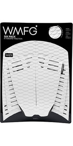 2019 WMFG Classic Six Pack Traction Pad White 170001