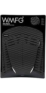 2019 WMFG Classic Six Pack Traction Pad Black 170001