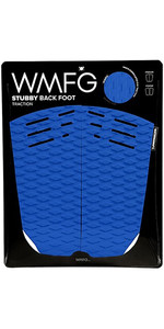 2019 WMFG Stubby Back Foot Traction Pad Blue / White 170020