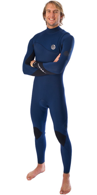 **rip Curl Flashbomb 3/2mm Zip Free Wetsuit In Navy Wsm4rf Picture