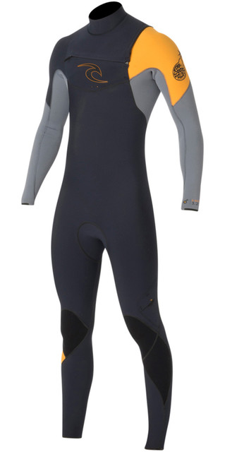 Rip Curl E-bomb 4/3mm Gbs Chest Zip Wetsuit Slate Wsm5be Picture