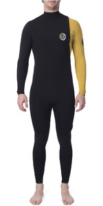2020 Rip Curl Mens E-Bomb Pro 3/2mm Zipperless Wetsuit Yellow WSM8RE