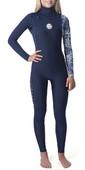 2020 Rip Curl Womens Dawn Patrol 3/2m Chest Zip Wetsuit Dark Blue WSM9CS
