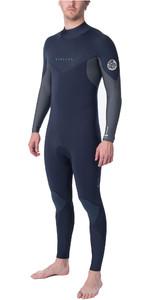 2019 Rip Curl Mens Dawn Patrol Warmth 3/2mm Back Zip Wetsuit Slate WSM9DM
