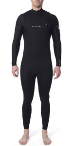 2019 Rip Curl Mens Dawn Patrol Warmth 5/3mm Chest Zip Wetsuit Black WSM9GM