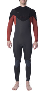 2019 Rip Curl Mens Dawn Patrol Warmth 5/3mm Chest Zip Wetsuit Burnt Orange WSM9GM