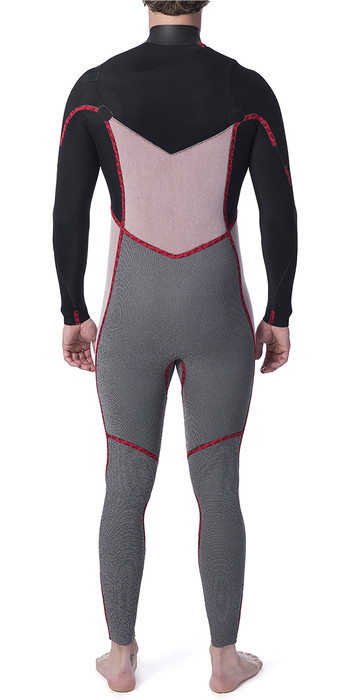 2020 Rip Curl Mens Dawn Patrol Warmth 5/3mm Chest Zip Wetsuit Slate WSM9GM