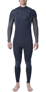 2019 Rip Curl Mens Dawn Patrol Warmth 3/2mm Chest Zip Wetsuit Slate WSM9AM