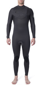 2019 Rip Curl Mens Dawn Patrol Performance 3/2mm Chest Zip Wetsuit Charcoal WSM9TM