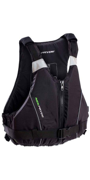 2018 Neil Pryde Junior Raceline Front Zip Buoyancy Aid Black WUKCA301
