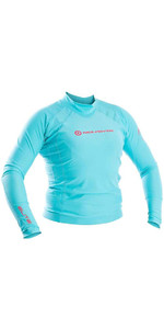 Neil Pryde Womens Elite Long Sleeve Rash Vest Sky Blue WUKRSB943
