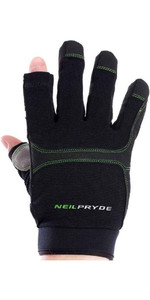 2018 Neil Pryde Regatta Full Finger Sailing Gloves Black WUKSAGGF