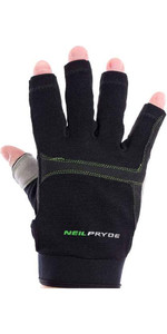Neil Pryde Regatta Half Finger Sailing Gloves Black 630544