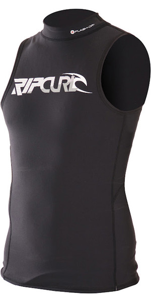 Rip Curl Thermo Flash Dry Vest in Black WVELCM