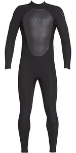 2021 Xcel Mens Axis 3/2mm Back Zip Wetsuit MT32AX18 - Black