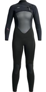 2020 Xcel Womens Infiniti 4/3mm Chest Zip Wetsuit WR433Z19 - Black