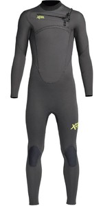 2020 Xcel Junior Comp 5/4mm Chest Zip Wetsuit KN54ZXC0 - Graphite