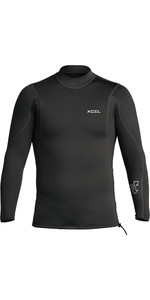 2021 Xcel Mens Axis 2/1mm Long Sleeve Neoprene Top MN216AX0 - Black