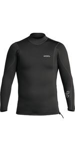 2020 Xcel Mens Axis 2/1mm Long Sleeve Neoprene Top MN216AX0 - Black