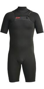 2020 Xcel Mens Comp 2mm Chest Zip Short Wetsuit MN21ZFC0 - Black