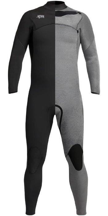2020 Xcel Mens Comp 5/4mm Chest Zip Wetsuit MN54ZXC0 - Black