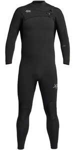 2020 Xcel Mens Comp 4/3mm Chest Zip Wetsuit MN43ZXC0 - Black