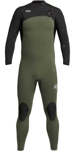 2020 Xcel Mens Comp 4/3mm Chest Zip Wetsuit MN43ZXC0 - Dark Forest