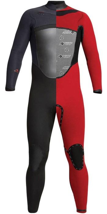 2020 Xcel Mens Drylock 6/5mm Hooded Chest Zip Wetsuit MC65DHNO - Black
