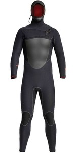 2020 Xcel Mens Drylock 5/4mm Hooded Chest Zip Wetsuit MC54DH20 - Black