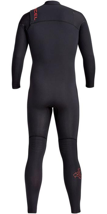 2020 Xcel Mens Infiniti X2 Ltd Edition 5/4mm Chest Zip Wetsuit MN54Z2L9 - Black