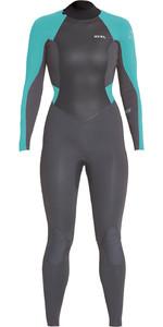 2020 Xcel Womens Axis X 4/3mm Back Zip Wetsuit WT43Z2S9 - Graphite