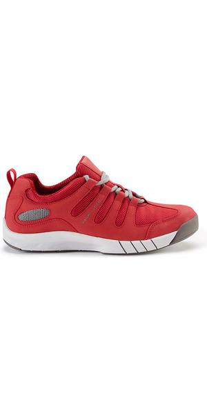 2018 Henri Lloyd Deck Grip Profile Deck Shoes in New Red YF600001