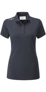 2018 Henri Lloyd Womens Cool Dri Polo Shirt Slate Blue YI000006