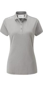 Henri Lloyd Womens Cool Dri Polo Shirt Titanium YI000006