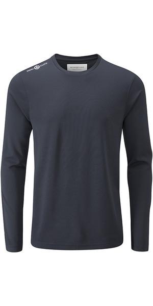 2018 Henri Lloyd Cool Dri Long Sleeve T-Shirt Slate Blue YI200003