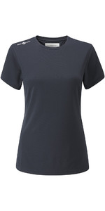 Henri Lloyd Womens Cool Dri T-Shirt Slate Blue YI200004