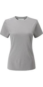 Henri Lloyd Womens Cool Dri T-Shirt Titanium YI200004
