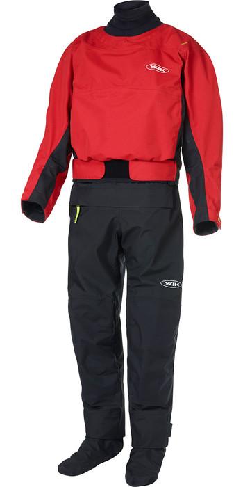 2021 Yak Mens Horizon Kayak Drysuit + Con Zip 6580 - Red